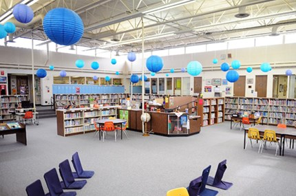 Woodland Elementary School library