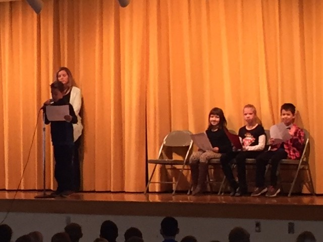 Frank Poetry Assembly for Right to Read Week!:):):)