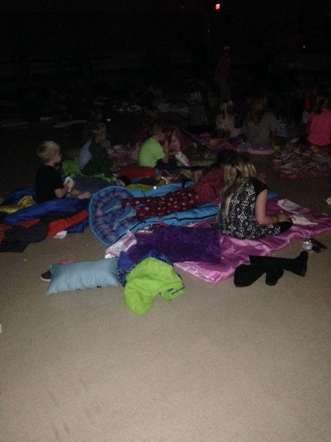 Frank Elementary Movie Night Fun!