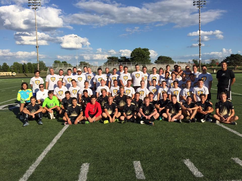 PHS soccer alumni game photo