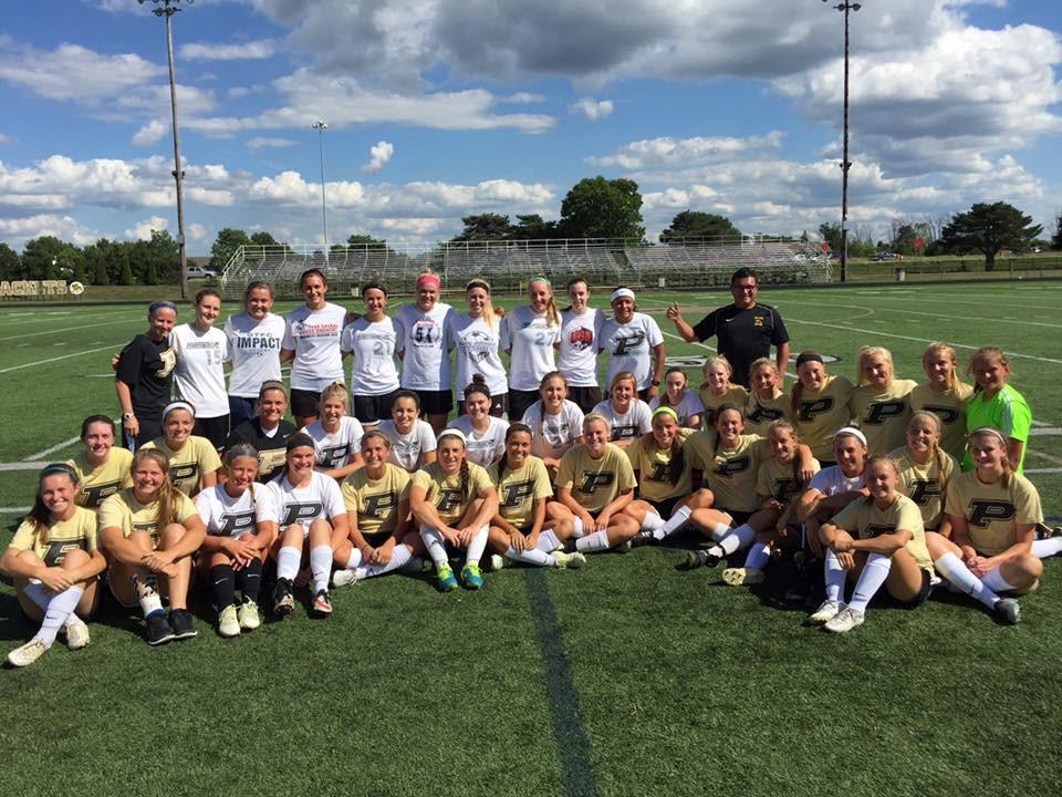 PHS soccer alumni game photo