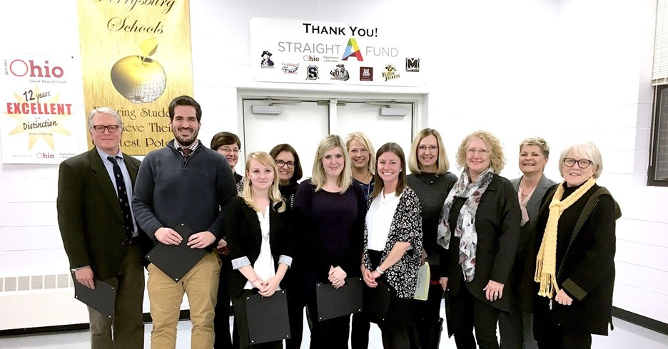 Five Resident Educators earned Top 100 in the State Honor!
