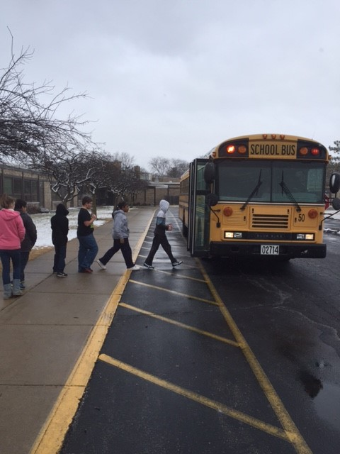 5th graders creating a PBIS bus behavior video!:)