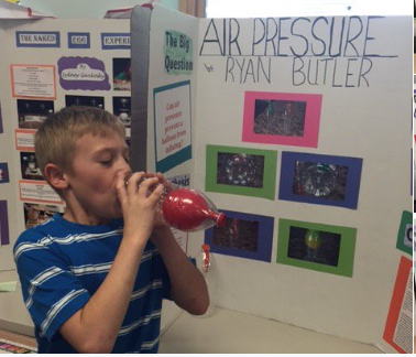 4th Grade Science Fair Fun!:)