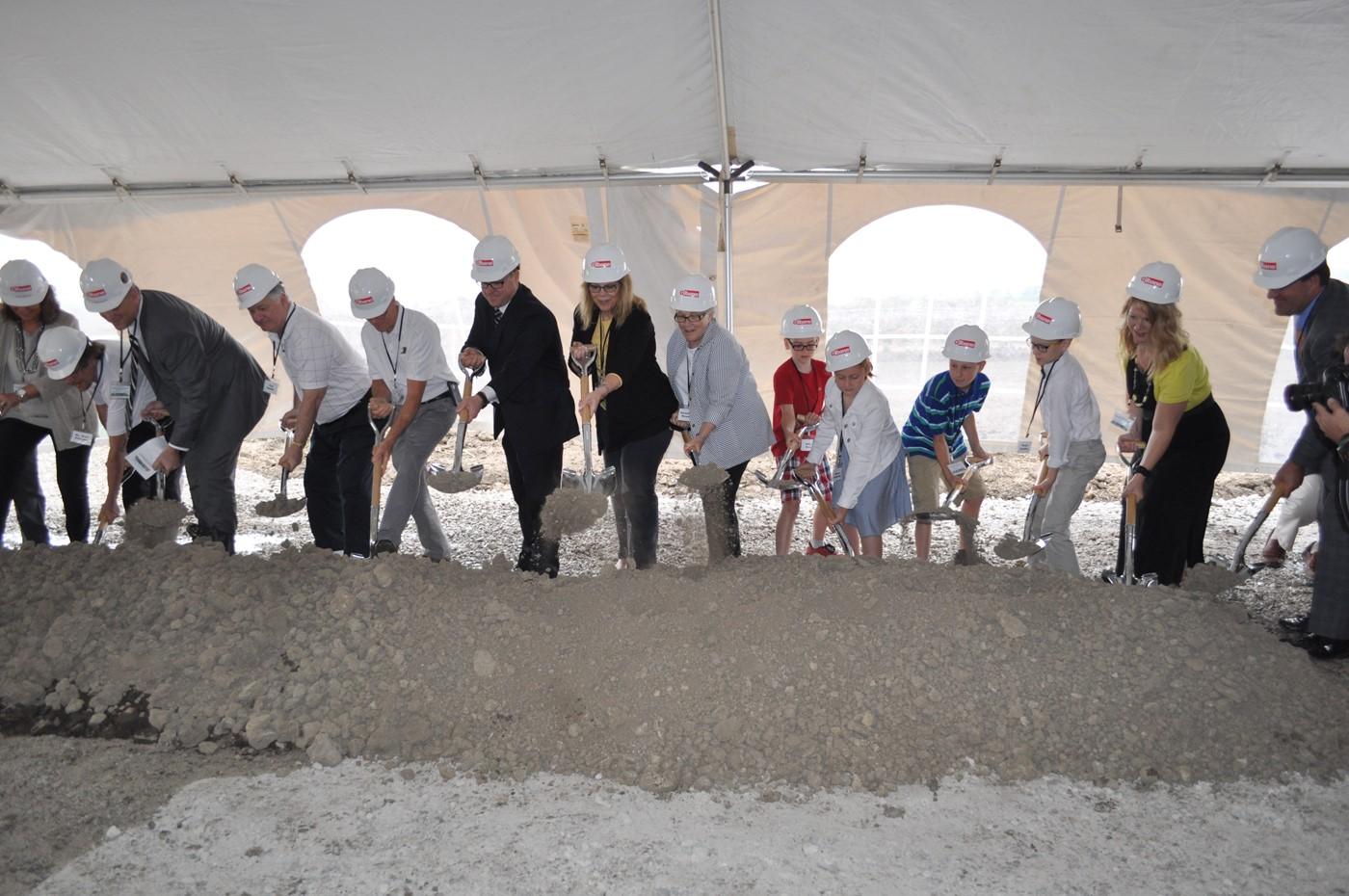 Groundbreaking Ceremony on June 23, 2016