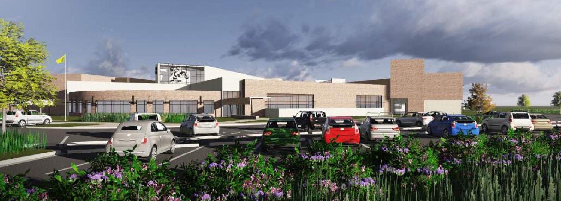 Rendering of Hull Prairie Intermediate School