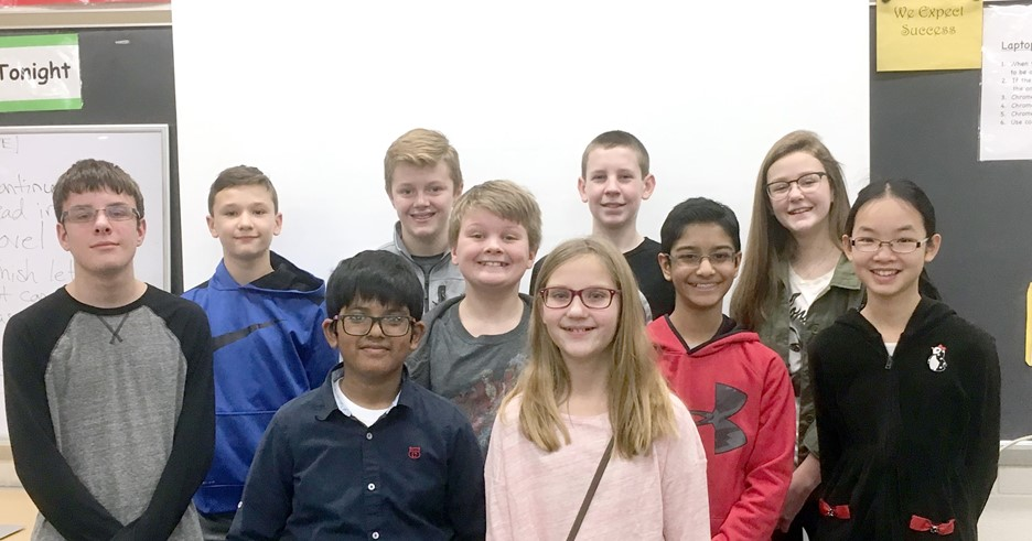 Perrysburg Junior High School-Wide Spelling Bee