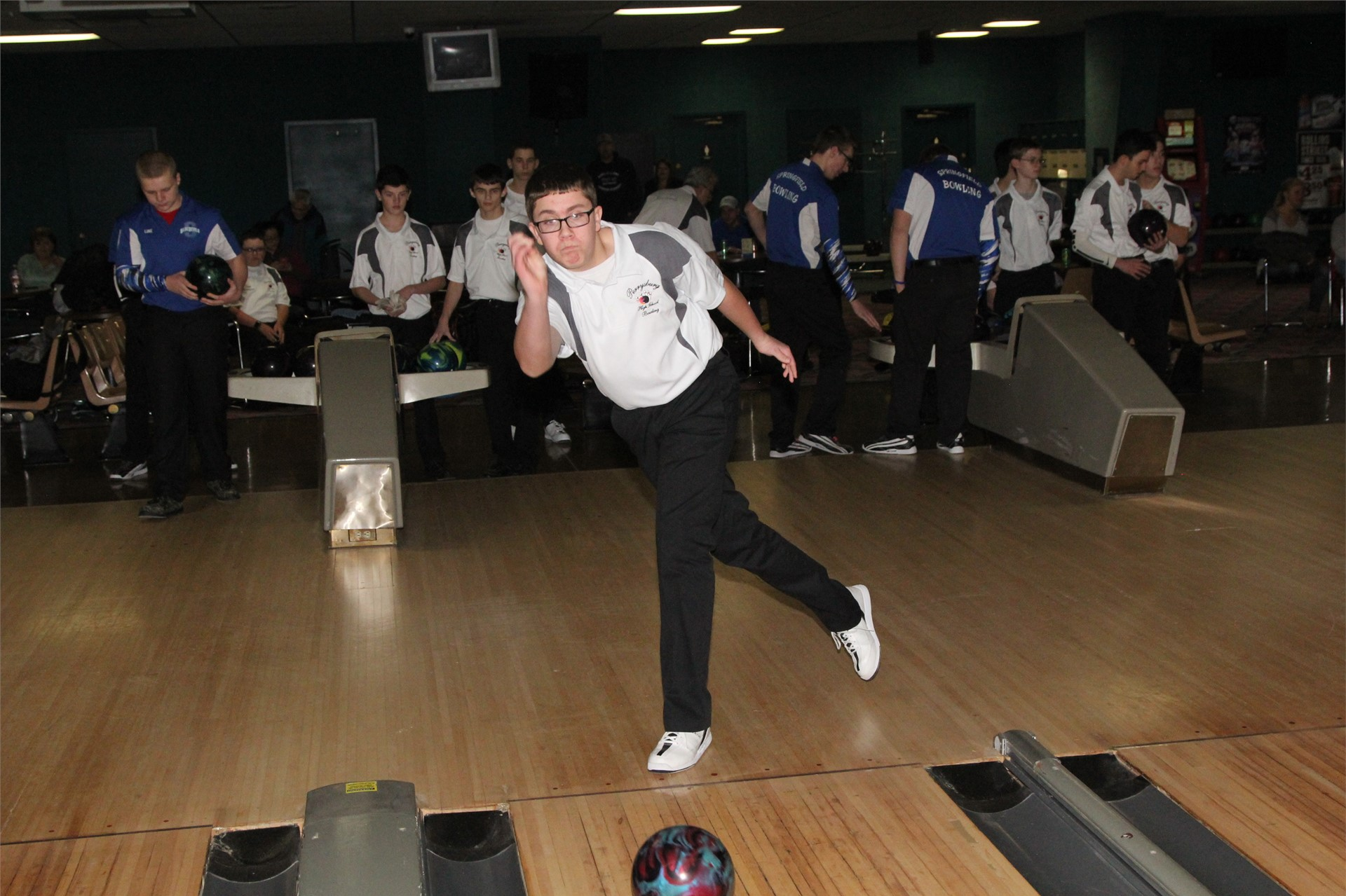 PHS student athlete bowling