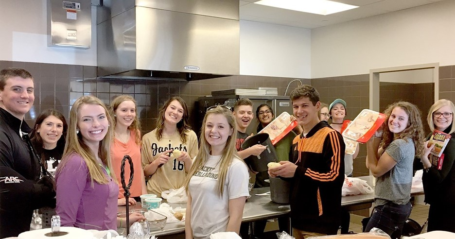 PHS Student Council annual trip to Ronald McDonald House