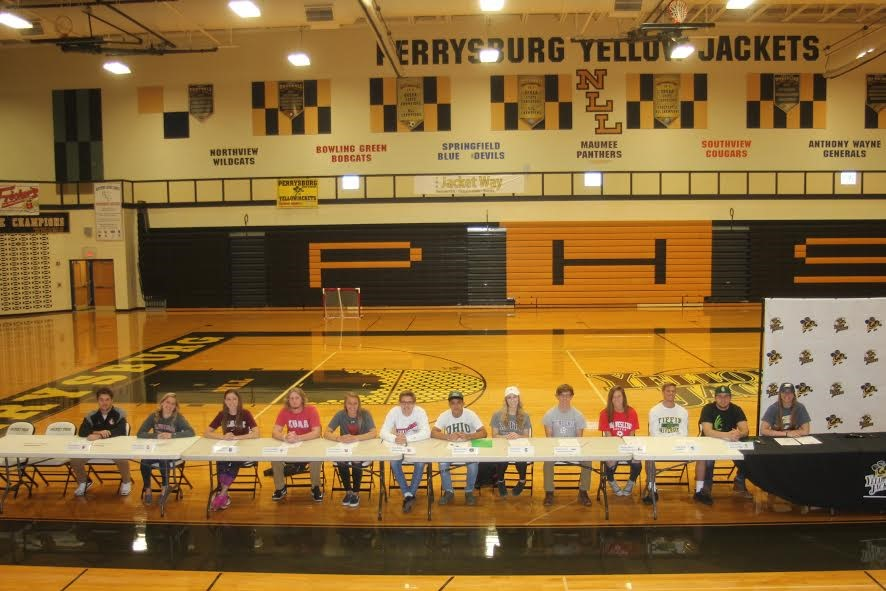 PHS student athletes declaring for college