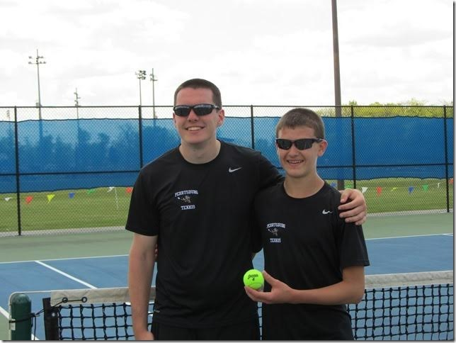 Tennis Player posing
