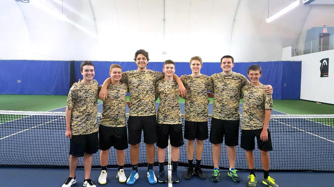 Tennis Players posing
