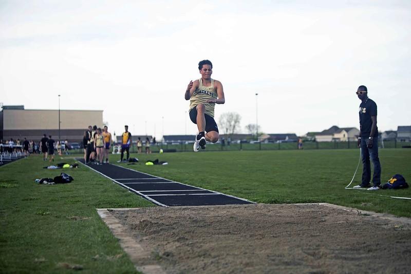 boy long jumping