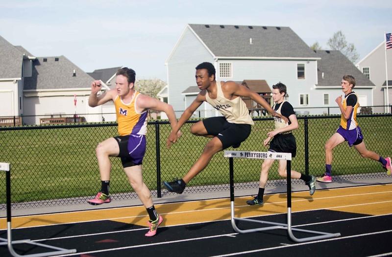 boys hurdling