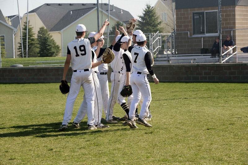 baseball team chanting