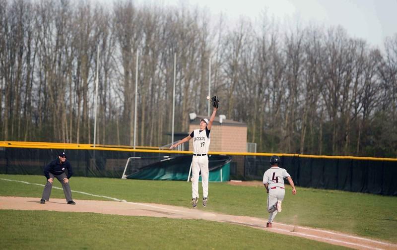 Student athlete catching