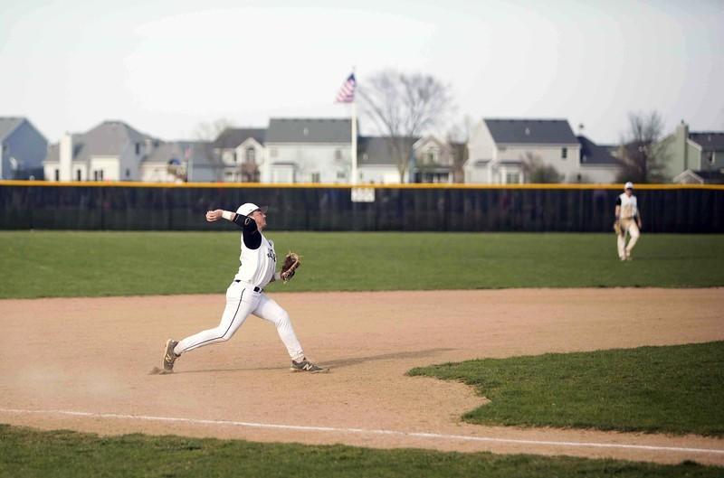 Student athlete throwing