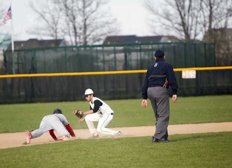 Student athlete fielding