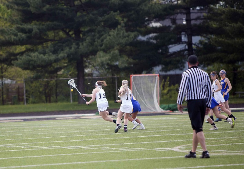 Lacrosse Player catching