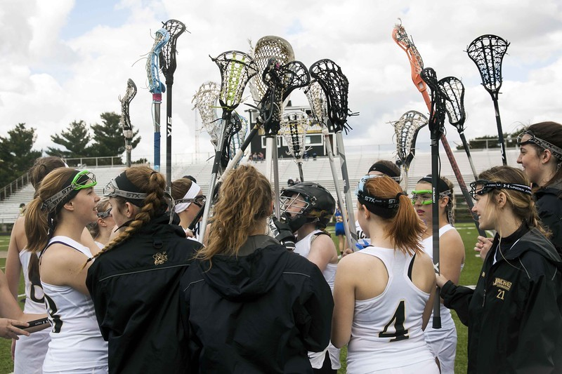 Lacrosse Players chanting