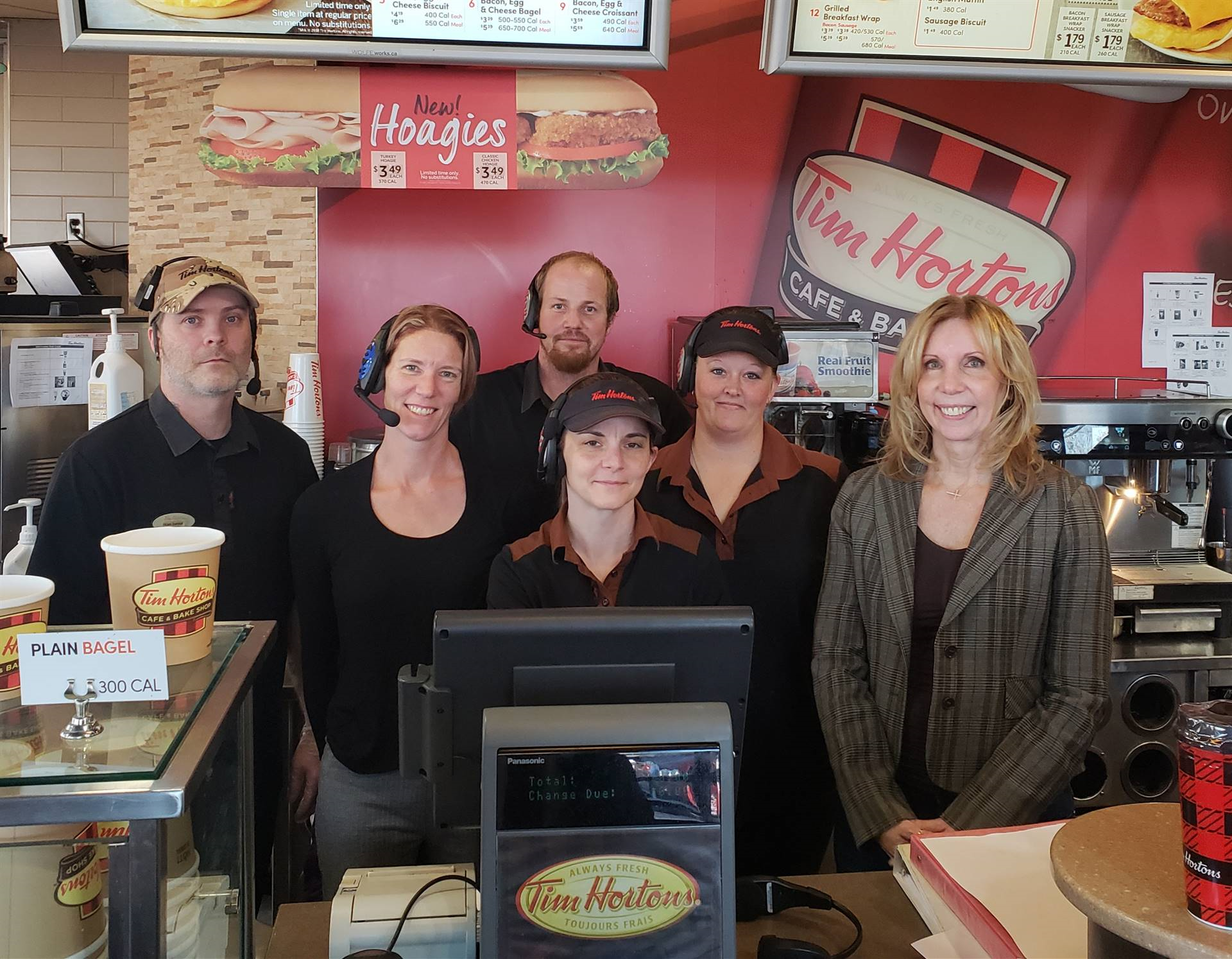 The Staff at Tim Horton's Buck Road is excited to help with Giving Tuesday