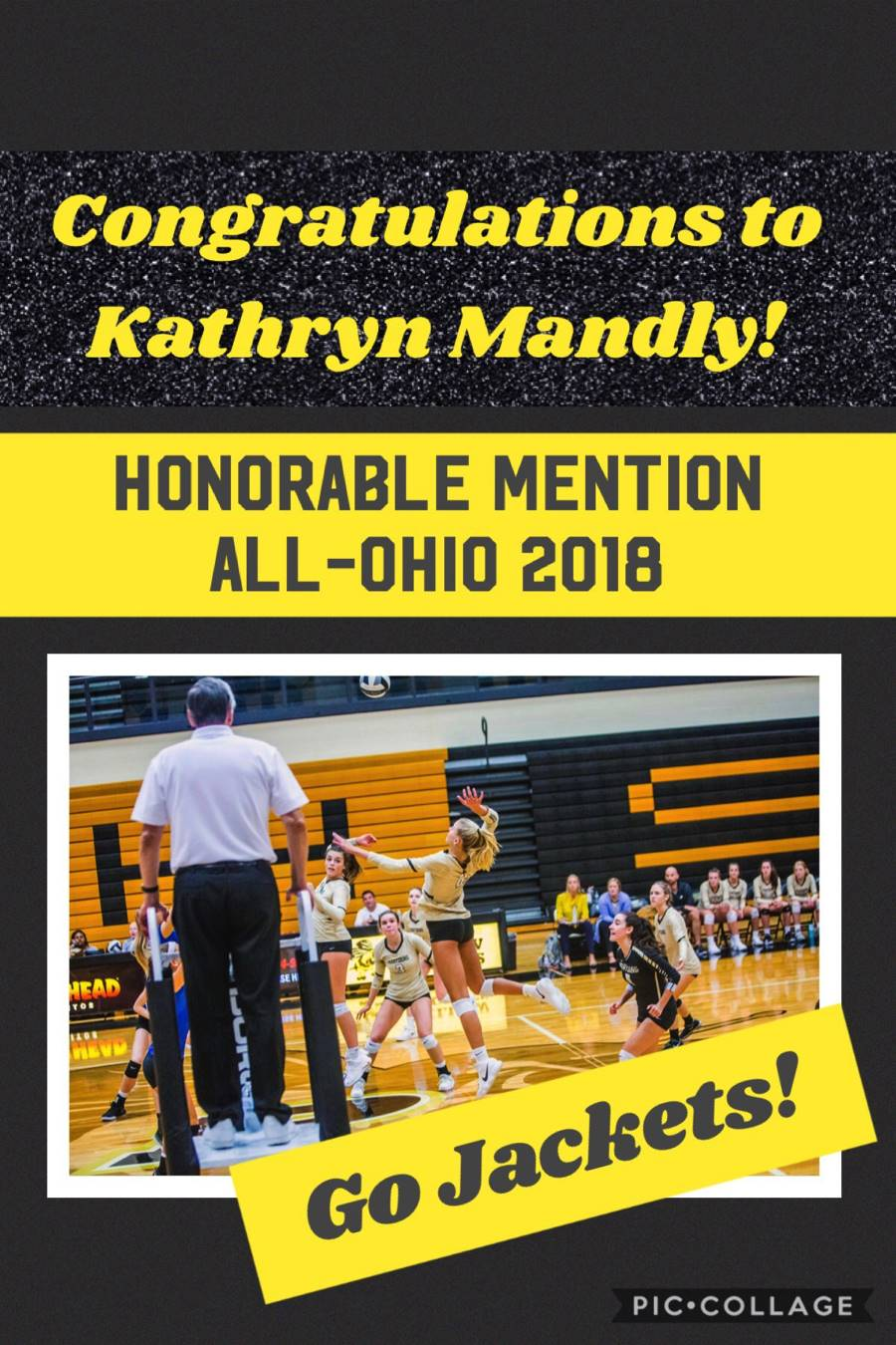 Kat Mandly - All-Ohio HM