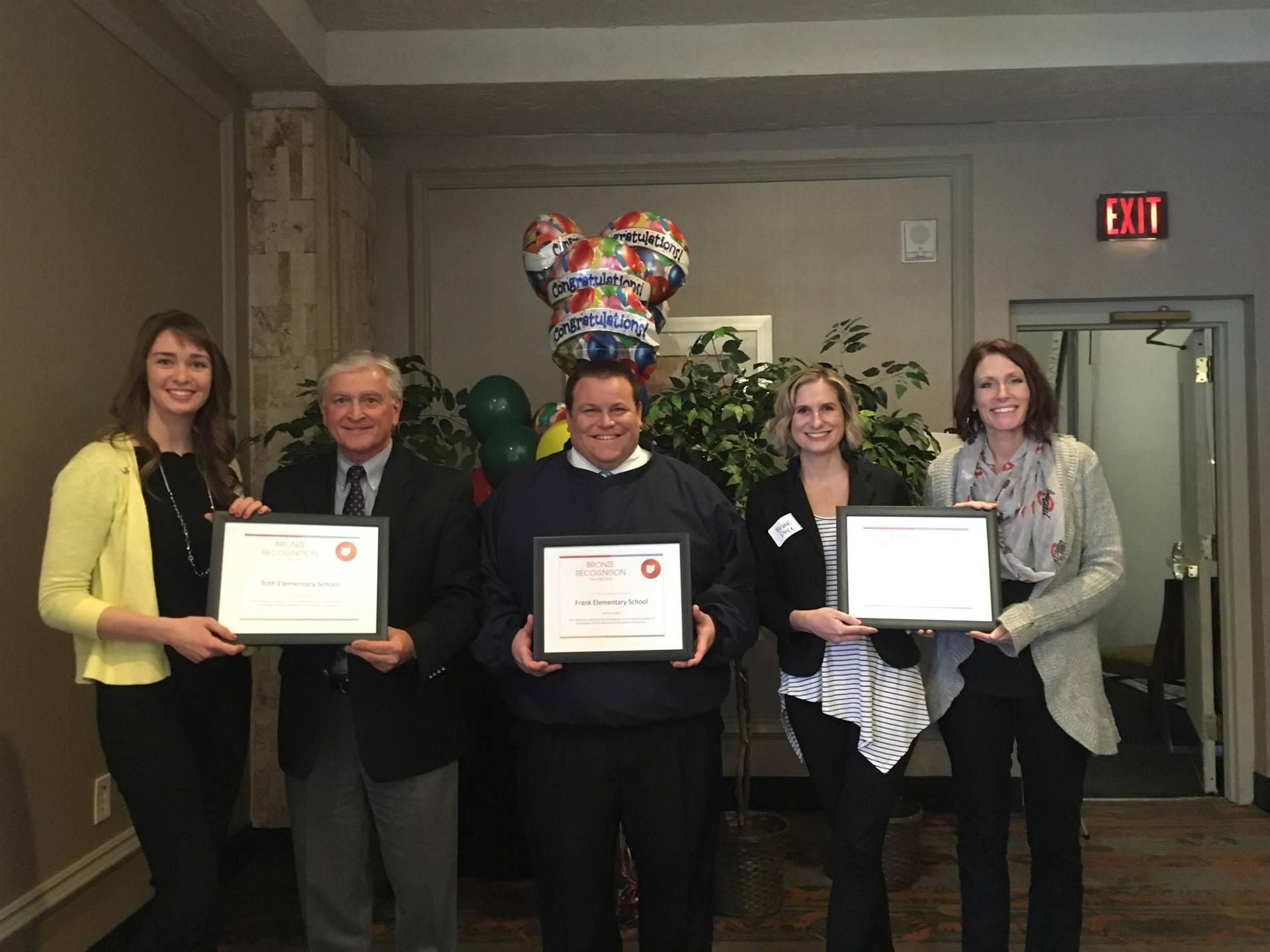 PBIS Award Group Photo