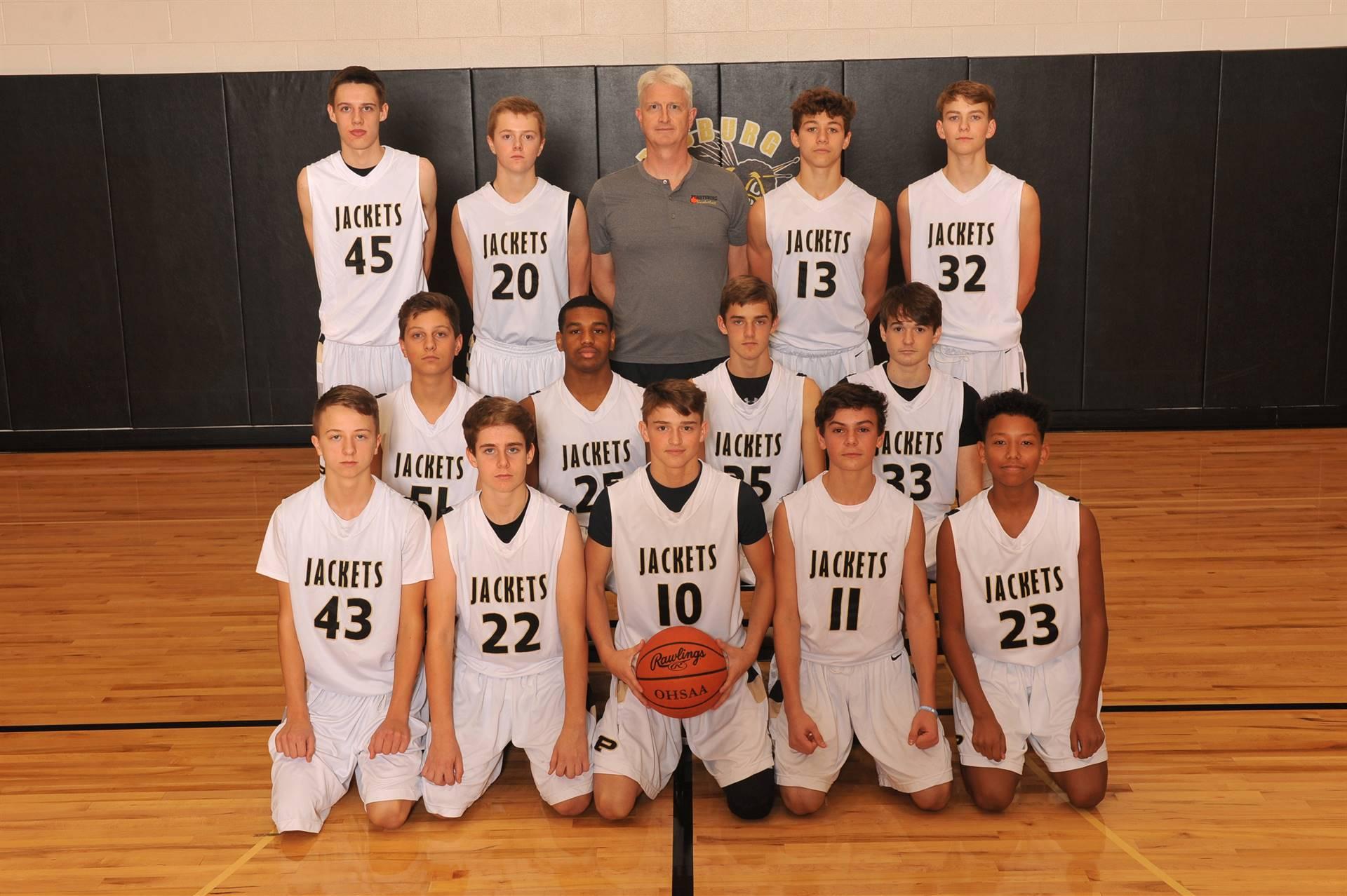 PHS Freshman Basketball Team