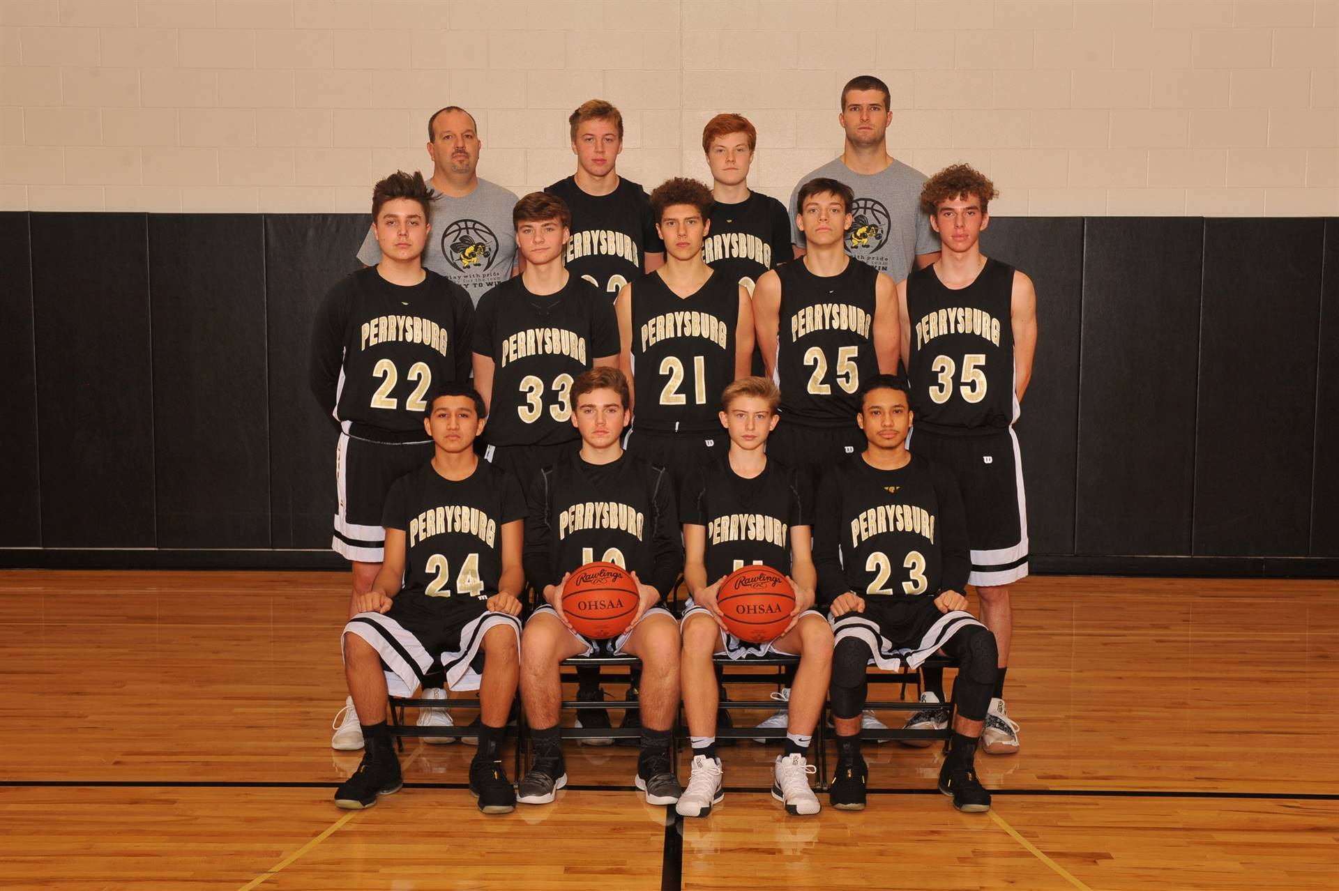 PHS JV Basketball Team
