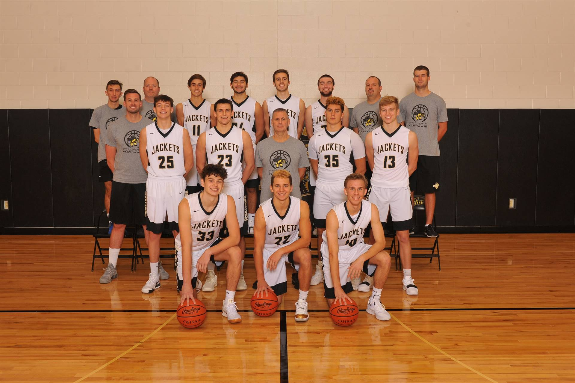 PHS Varsity Basketball Team
