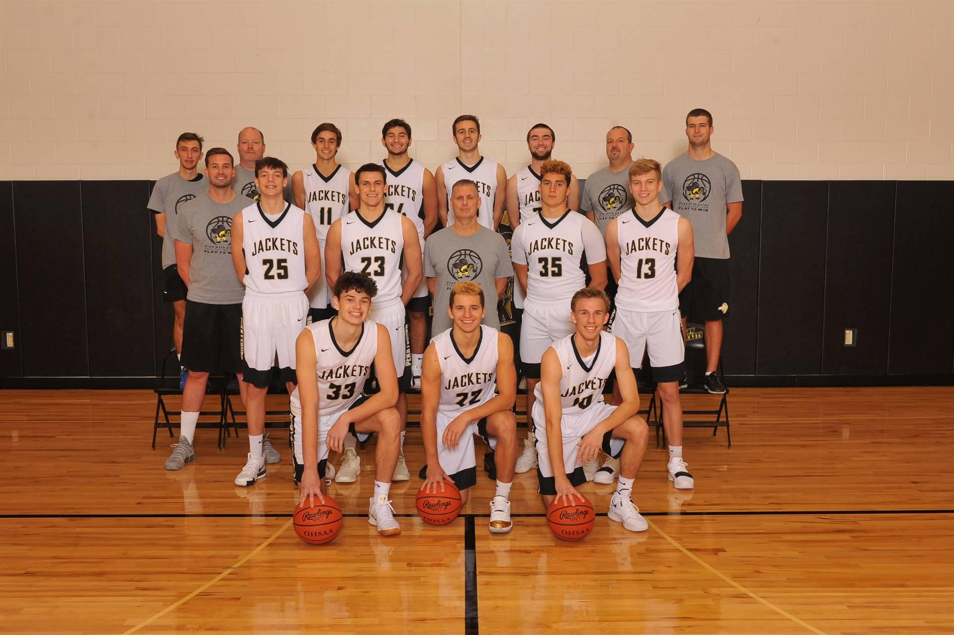 PHS Varsity Basketball Team