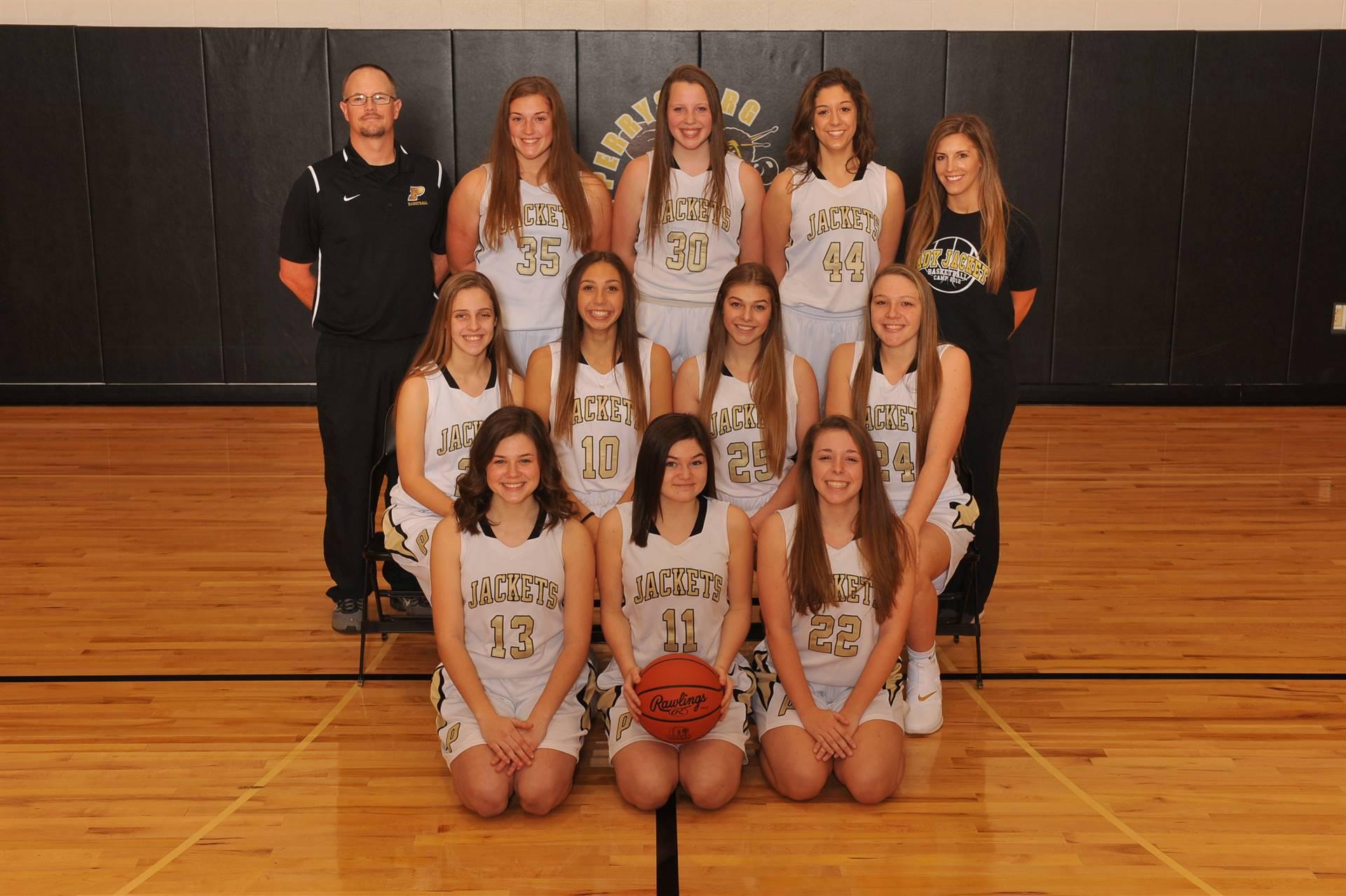 PHS JV Girls Basketball Team