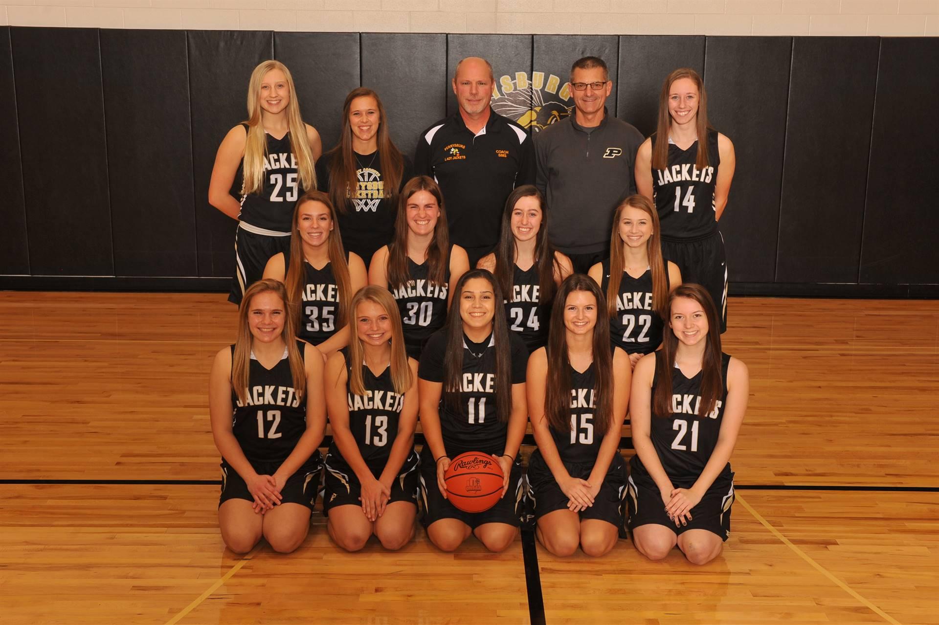 PHS Varsity Girls Basketball Team