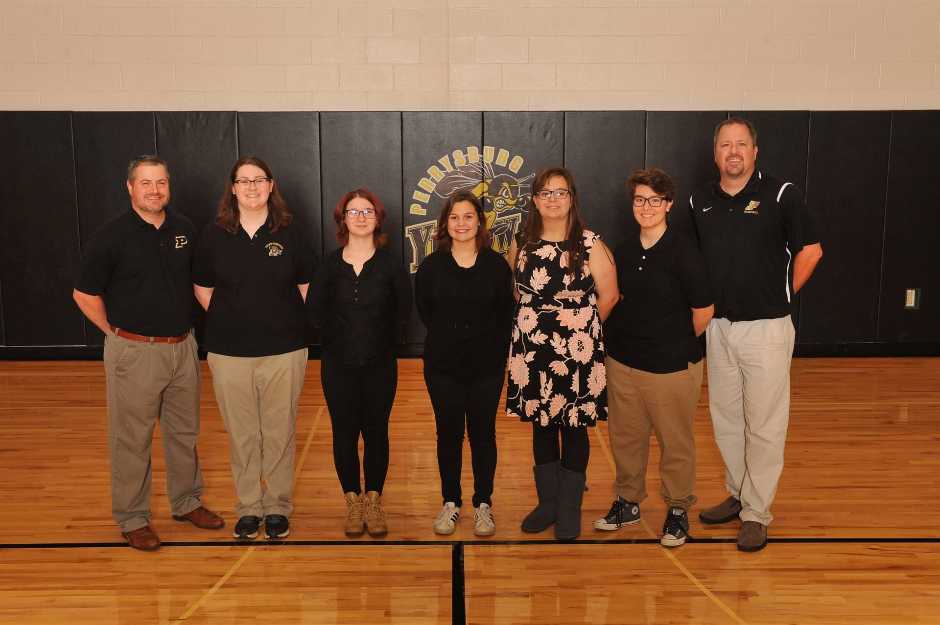 PHS Varsity Girls Bowling Team