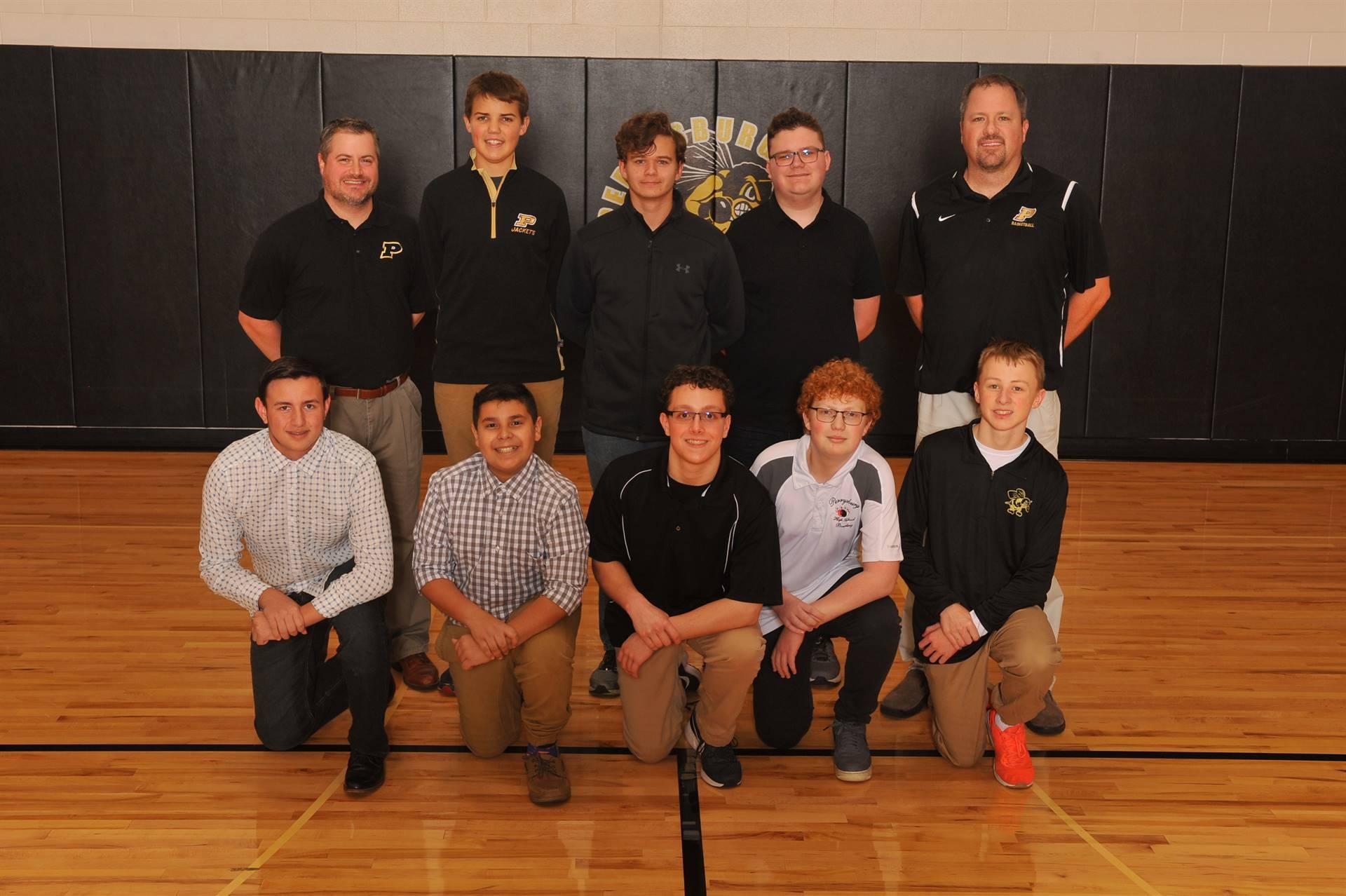 PHS JV Boys Bowling Team