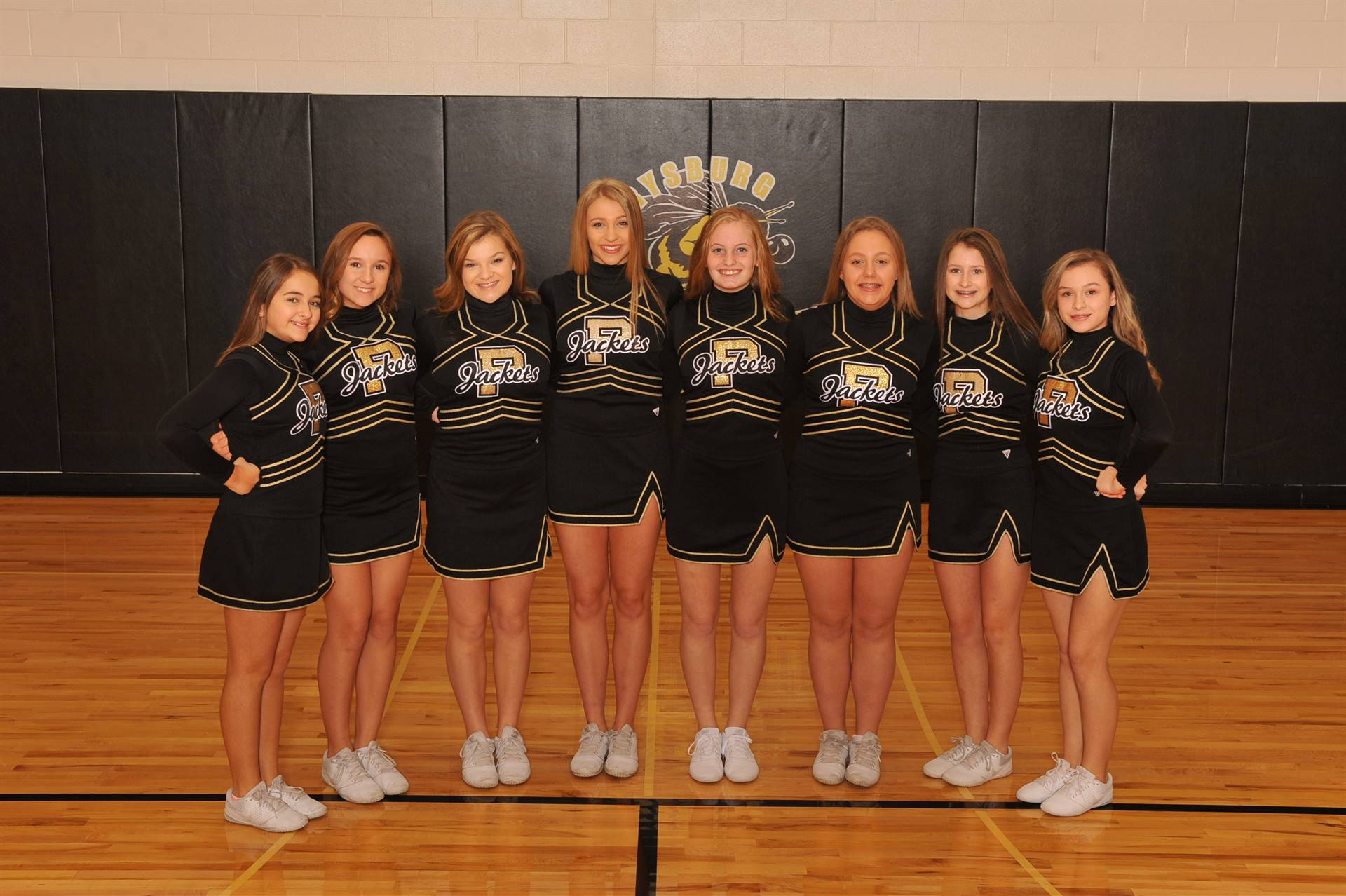PHS Freshman Winter Cheerleaders