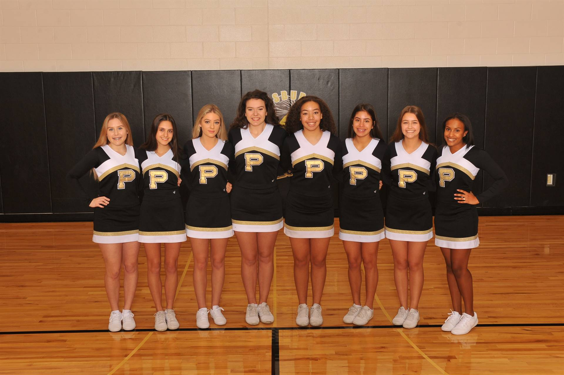 PHS JV Winter Cheerleaders