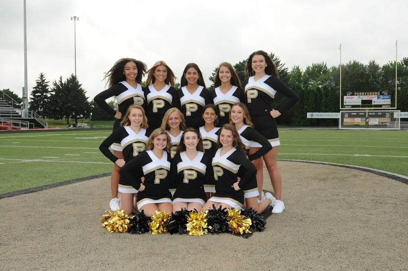 PHS JV Fall Cheerleaders