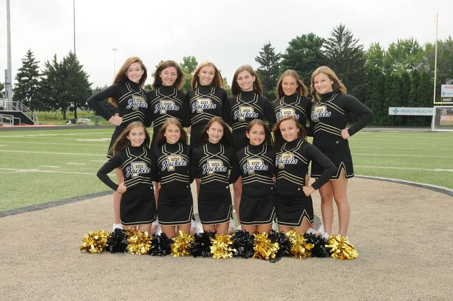 PHS Freshman Fall Cheerleaders