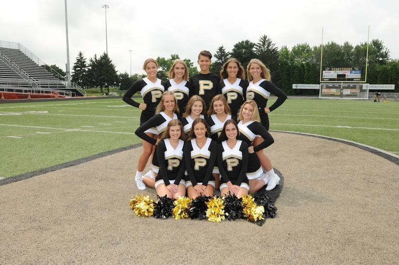 PHS Varsity Fall Cheerleaders