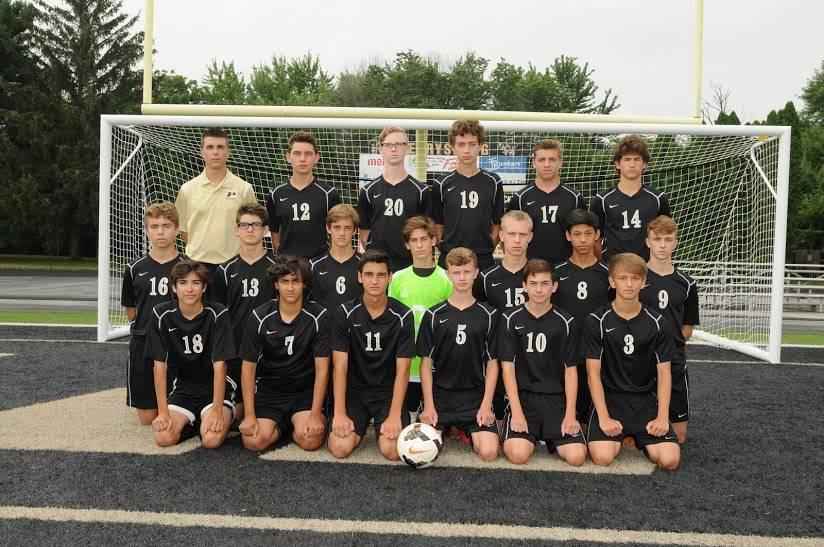 PHS JVA Boys Soccer Team