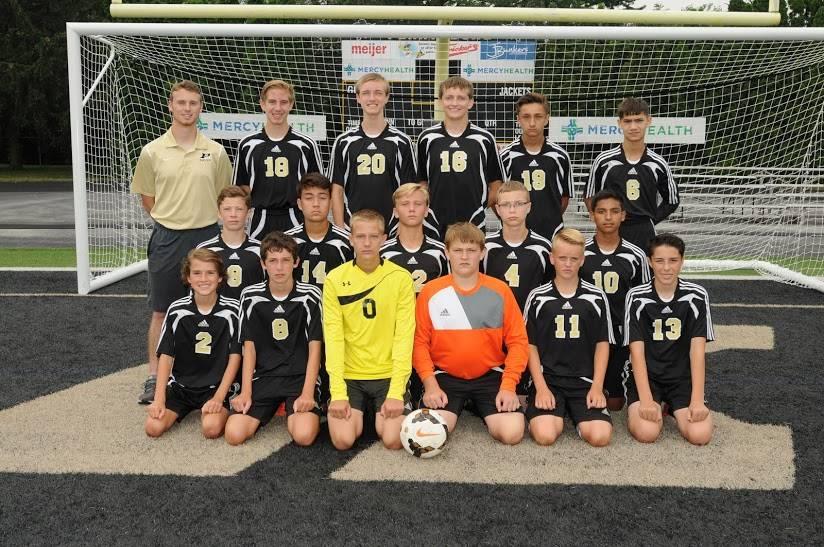 PHS JVB Boys Soccer Team