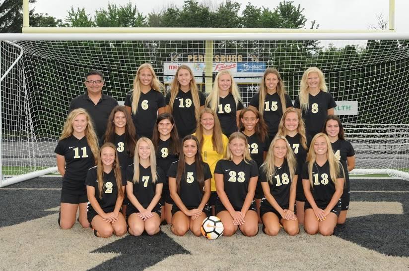 PHS Varsity Girls Soccer Team