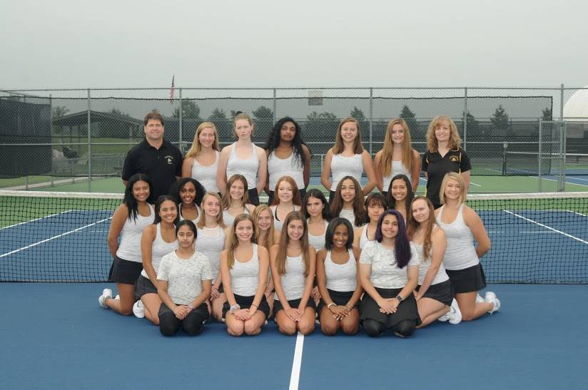 PHS JV Girls Tennis Team