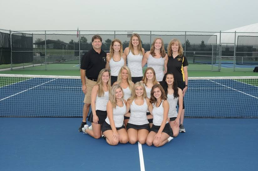 PHS Varsity Girls Tennis Team