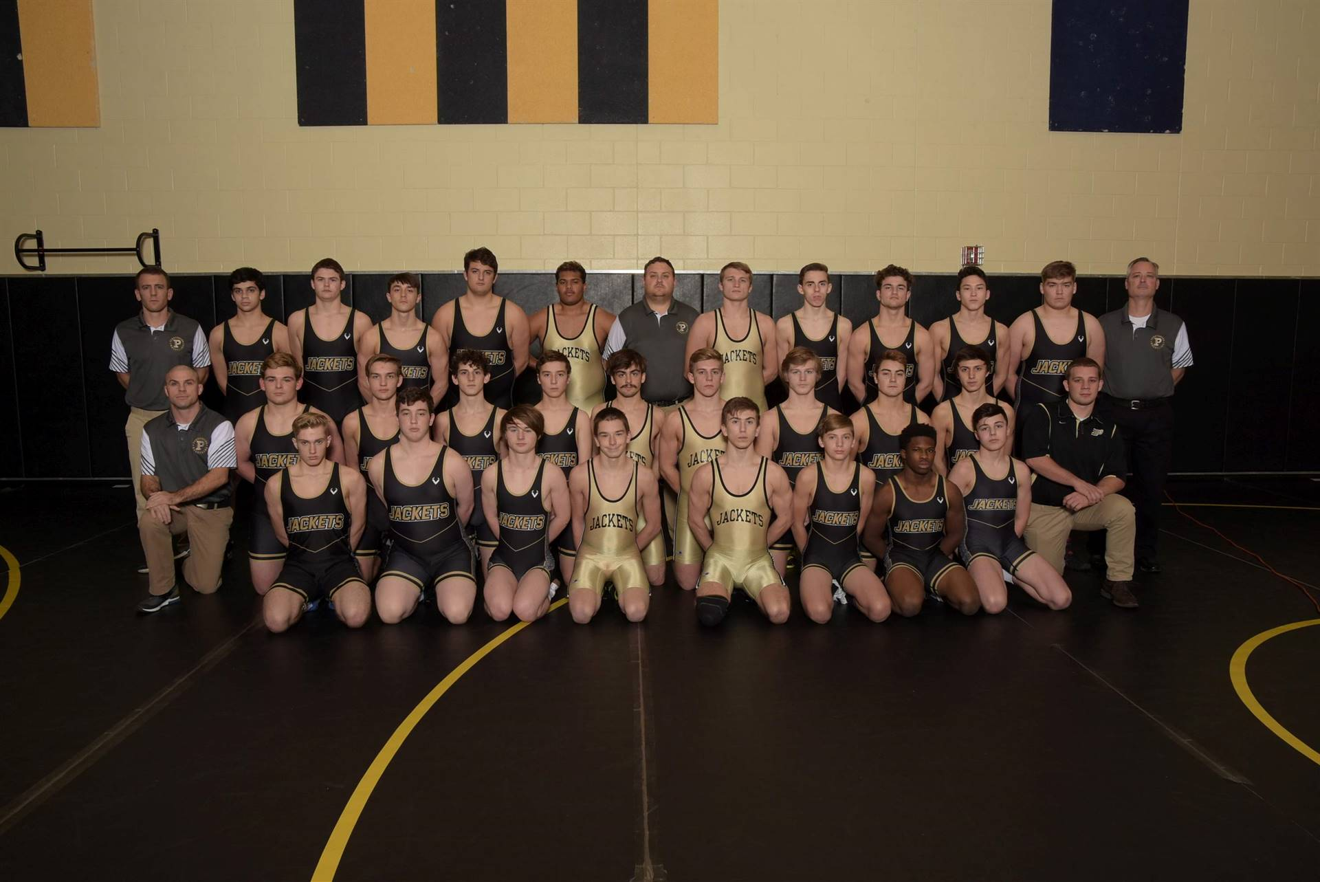 PHS Varsity Wrestling Team Photo