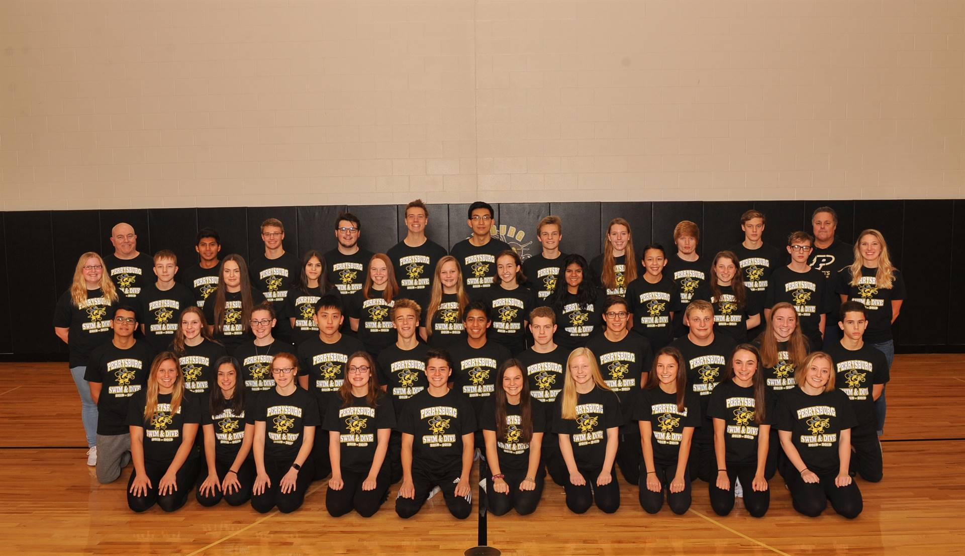 PHS Varsity Swim Team Photo