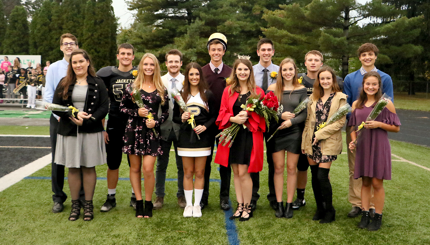 2017 PHS Homecoming Court