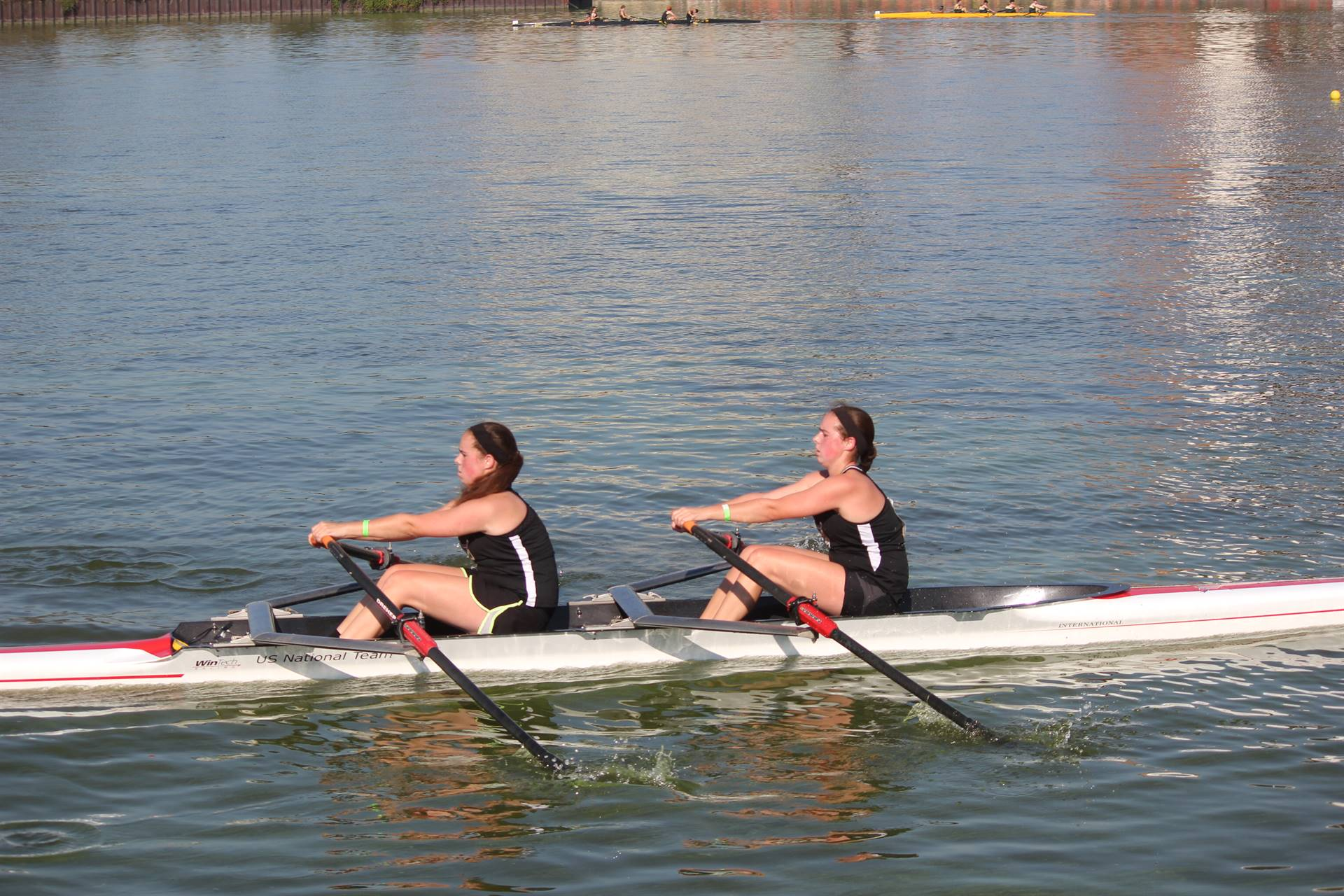 PHS Rowing Team Competing