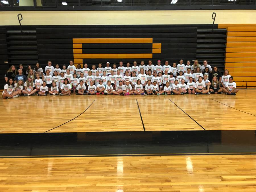 3rd-6th Graders  at PHS VB Camp 2018!
